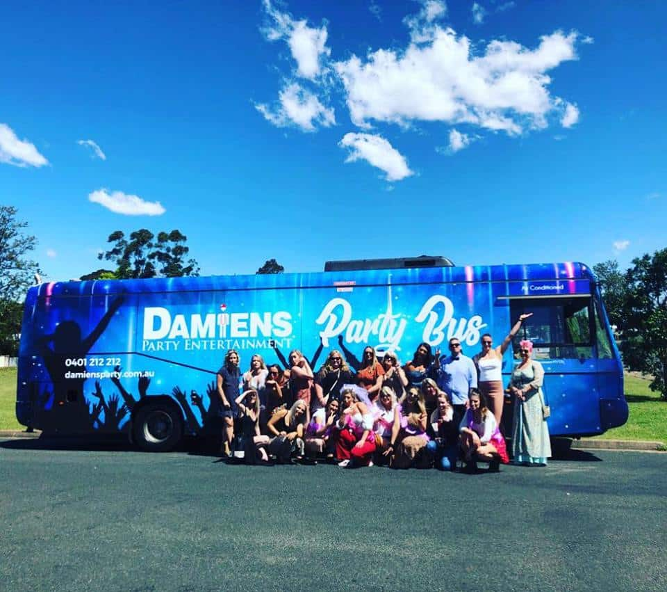 newcastle birthday party bus hire
